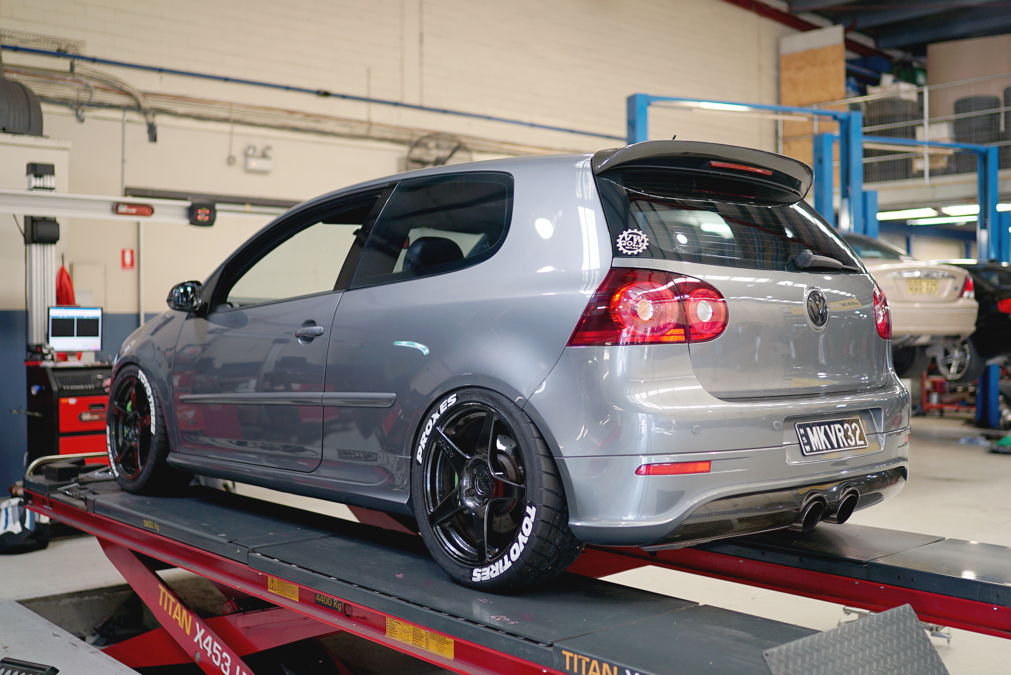 How Much Is A Wheel Alignment >> Justin Fox's ABT Supercharged MKV R32 - Page 37